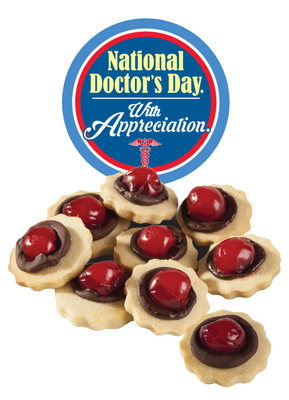 Doctor Appreciation Chocolate Cherry Butter Cookies