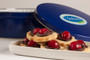 Chocolate Cherry Butter Cookie Tin