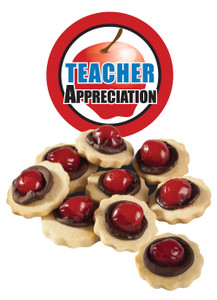 Teacher Appreciation Chocolate Cherry Butter Cookies