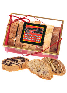 Admin/Office Staff Appreciation Biscotti Sampler
