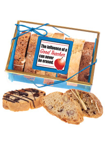 Teacher Appreciation Biscotti Sampler - Blue