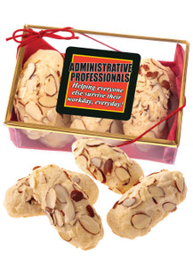Admin/ Office Staff Appreciation  Almond Log Sampler