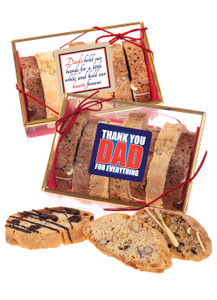 Fathers Day  Biscotti Sampler
