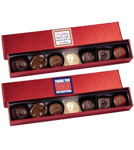 Fathers Day Chocolate Candy Sparkle Box