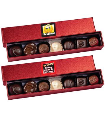 I'm Sorry Chocolate Candy Sparkle Box