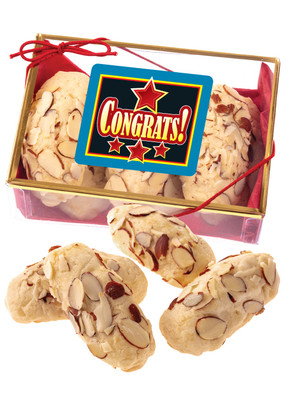 Congratulations Almond Log Sampler