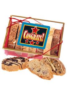 Congratulations Biscotti Sampler