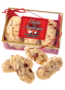 Anniversary Almond Log Red Sampler