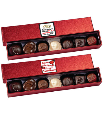 Anniversary Chocolate Candy Sparkle Box