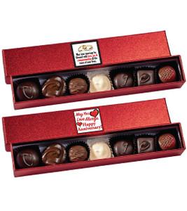 Anniversary Chocolate Candy Novelty Box