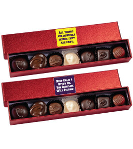 Back To School Chocolate Candy Sparkle Box