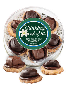 Thinking of You Chocolate Candy Cookies