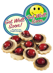 Get Well Chocolate Cherry Butter Cookies