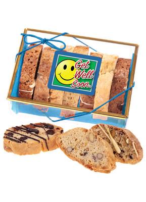 Get Well Biscotti Sampler - Blue