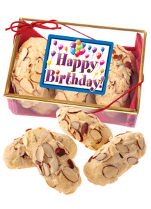 Birthday Almond Log Sampler