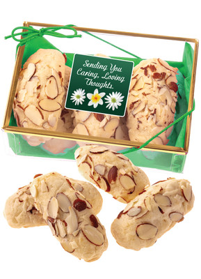 Thinking of You Almond Log Sampler - Green