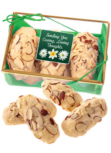 Thinking of You Almond Log Sampler - Green