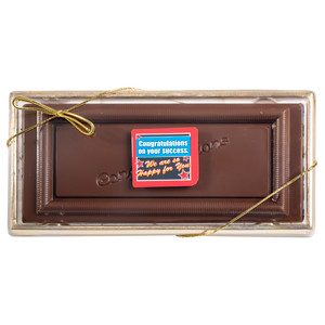 Anniversary Labeled Solid Chocolate Bar
