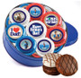 Father's Day 16pc Chocolate Oreo Photo Cookie Tin