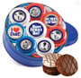 Father's Day 16pc Chocolate Oreo Photo Cookie Tin - B/W