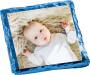 Baby Boy Chocolate Graham with Custom Photo