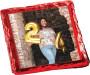 Happy Birthday Chocolate Graham with Custom Photo
