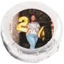 Happy Birthday Chocolate Oreo with Custom Photo