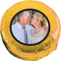 Wedding Chocolate Oreo with Custom Photo - gold