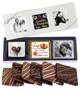 6pc Wedding Chocolate Graham Custom Photo Box