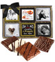 12pc Wedding Chocolate Graham Custom Photo Box