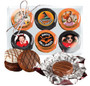 6pc Halloween Chocolate Oreo Custom Photo Cookie Box