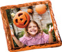 Halloween Chocolate Graham with Custom Photo