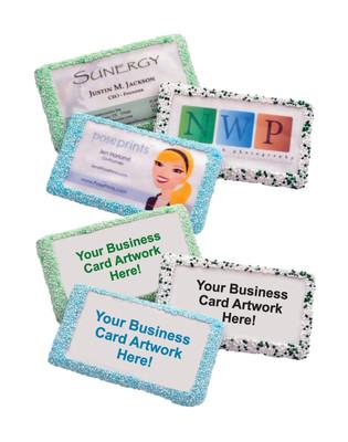 Edible Business Card Cookies