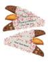 Custom Printed Biscotti - text
