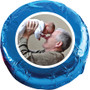Grandpa Chocolate Oreo Custom Photo Cookie - blue