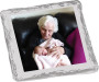 Grandma Chocolate Graham Custom Photo - silver