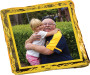 Grandpa Chocolate Graham Custom Photo - yellow