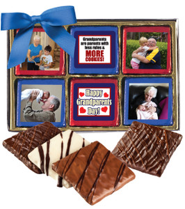 Grandma Chocolate Graham 12pc Custom Photo Box