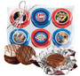 Grandma Chocolate Oreo 6pc Custom Photo Cookie Box