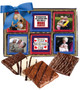 Grandpa Chocolate Graham 12pc Custom Photo Box