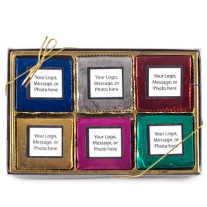 Custom 6pc Chocolate Graham Gift Box