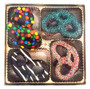 Chocolate Covered Assorted Pretzels 16pc Gift Box