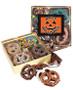 Halloween Chocolate Covered 16pc Pretzel Gift Box