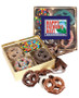 Fathers Day Chocolate Covered 16pc Pretzel Gift Box