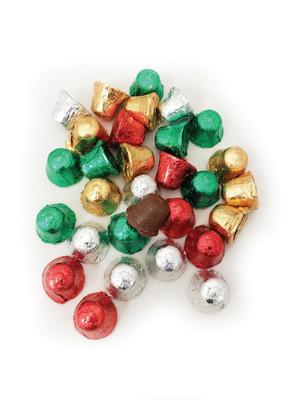 Solid Milk Chocolate Jingle Bells