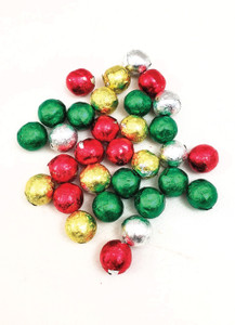Solid Milk Chocolate Christmas Balls