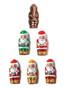 Solid Milk Chocolate Santa