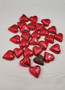 Foiled Red Hearts Solid Milk Chocolate