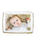Baby Boy Photo Sugar Iced Butter Cookie - Rectangle