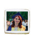 Congratulations Photo Sugar Iced Butter Cookie - Square